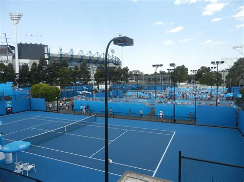 Are Courts Open On - sweating it out courtside at the australian open olympic