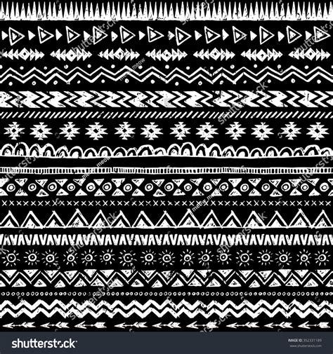 ethnic black of on grey stock vector image 100 ethnic seamless pattern aztec gray seamless pattern