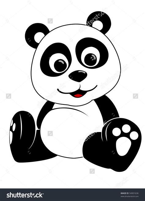 panda clip baby panda saying hi clipart clipground
