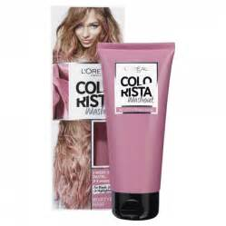 wash out pink hair color buy colorista washout pink 80 ml by l oreal