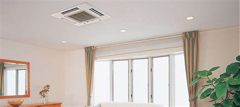 mitsubishi ceiling mount ceiling mounted air conditioners specifier