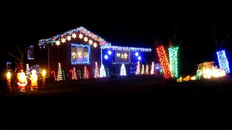 2017 christmas light show part 1 trans siberian