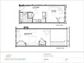 Open Floor Plans With Loft by One Bedroom House Plans With Loft One Bedroom Open Floor