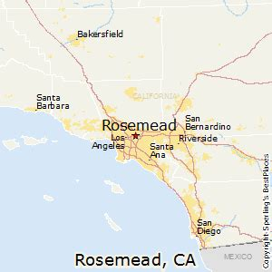 best places to live in rosemead california