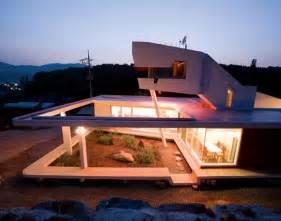 modern home design korea south korea zen house with seven private gardens modern house designs