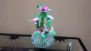 paper table decorations to make how to create beautiful paper flower bouquet basket