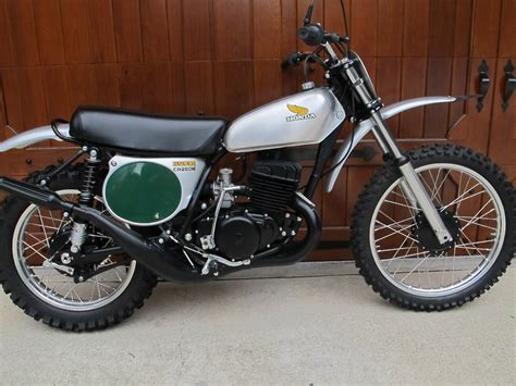 restored honda cr250 elsinore 1973 photographs at