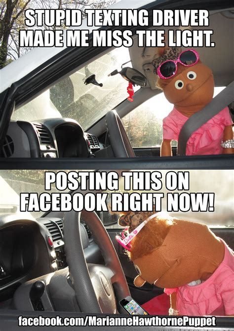 pin  kay jones  texting funnies xd driving memes