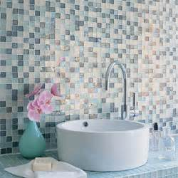 bathroom tile ideas dark mosaic small