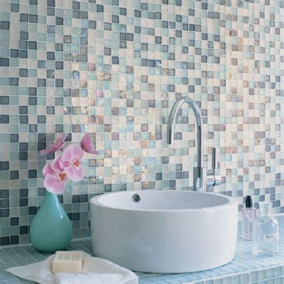 mosaic ideas for bathrooms mosaic tile counter