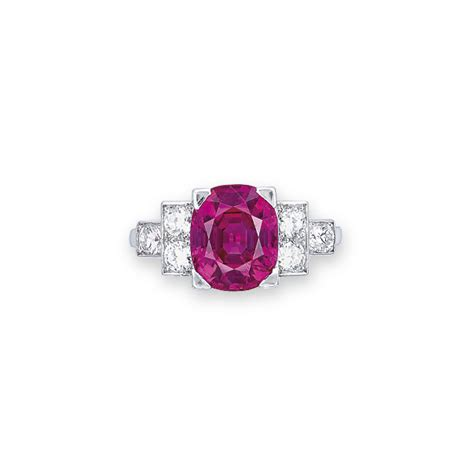 Lot Ruby a ruby and ring christie s