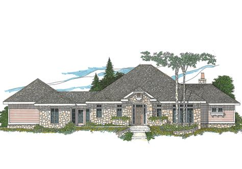 hill country house plans one level hill country home plan 12508rs architectural