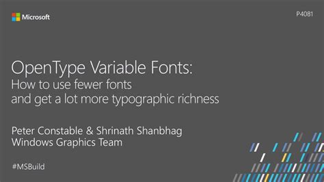opentype variable fonts how to use fewer fonts and get a