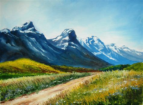 mountain landscape paintings painting workshop with svetlana kanyo quot landscape with