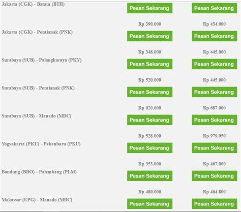 citilink qg 900 qg citilink indonesia low fares everyday page 85
