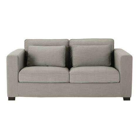 divano materasso maison du monde divano trasformabile grigio chiaro in tessuto monet 2 3
