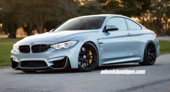 Bmw M4 Bmw M4 Tries On Matte Black Wheels On A Lowered