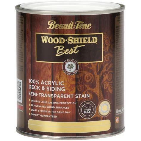 beauti tone wood shield   solid redwood acrylic