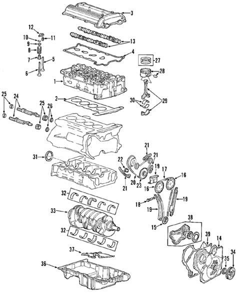 2003 oldsmobile alero engine diagram parts 174 genuine factory oem 2003 oldsmobile alero gls