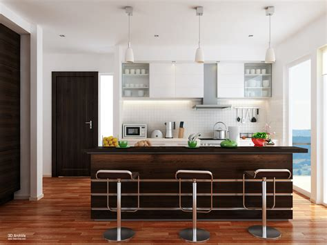 cucina soggiorno idee idee per arredare una cucina a vista casa di stile