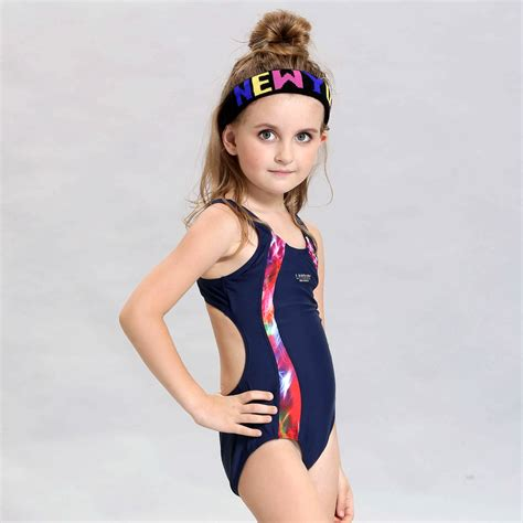 kids swimsuit models high quality children s professional racing swimsuit girls