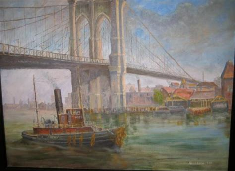 events art exhibits the bridge gallery shepherdstown quot life on the water quot oil paintings by odd andersen