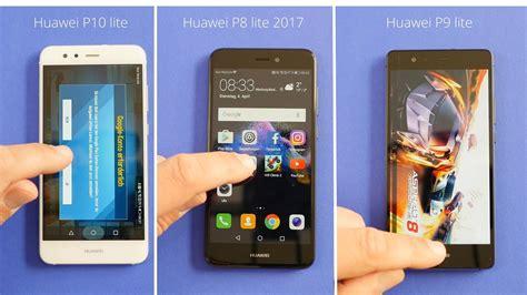 benchmark huawei p10 lite vs huawei p8 lite 2017 vs huawei p9 lite performance test