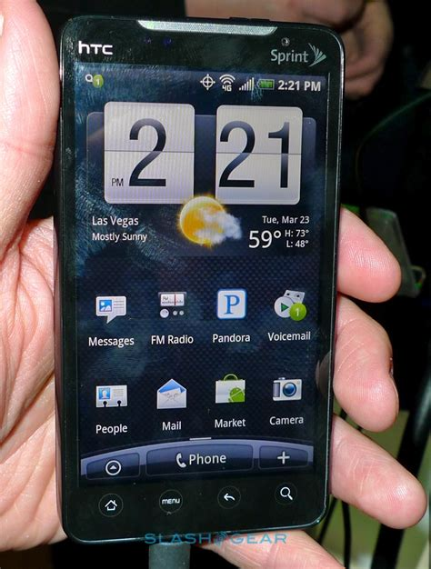 Hp Htc Evo 4g Sprint htc evo 4g gets a on time android community