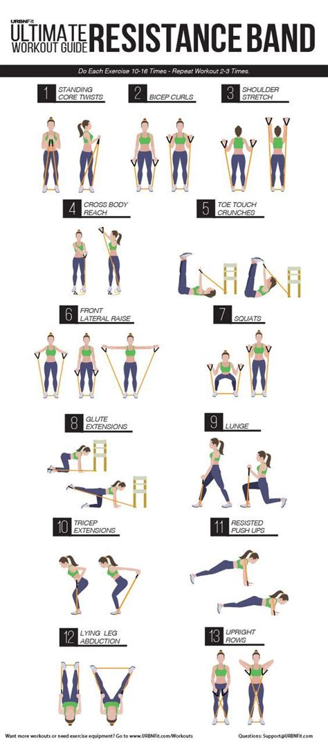 printable exercise band workouts 188 best loop band exercises images on pinterest