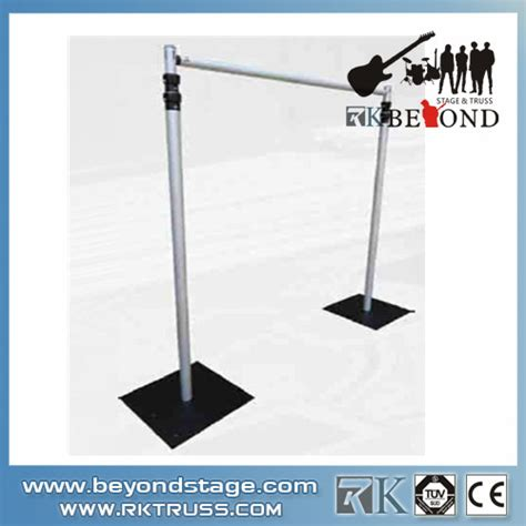 Portable Stage Curtain Stand Pipe And Drape Buy Pipe And