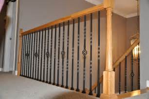 Balusters And Spindles Wrought Iron Spindles With Enchanting Stair Parts Railing