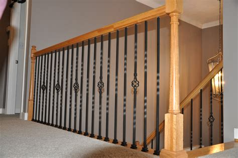 Wrought Iron Banister Spindles by Image Gallery Iron Pickets