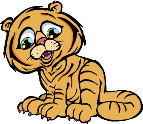 wallpaper animasi tiger harimau clip art clipart best
