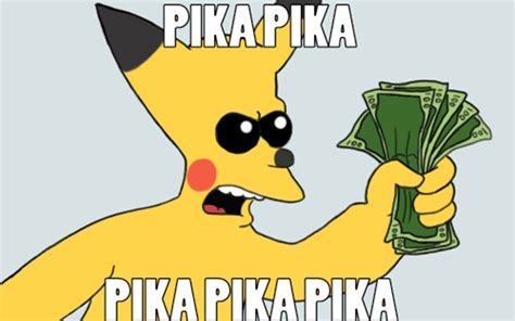 Take My Money Meme - pikachu shut up and take my money weasyl