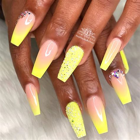 neon color nails fabulous neon colors ombre nails to try