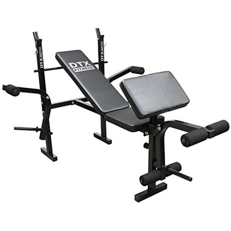 all in one weight bench dtx fitness all in one dumbbell barbell weight bench with