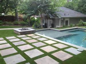 Hardscape Designs For Backyards Award Winning House Synthetic Turf Backyard Oasis