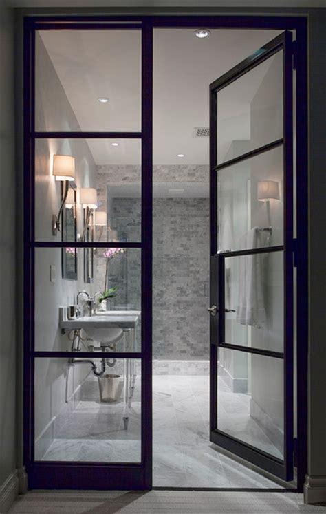 contemporary bathroom doors houzz home design decorating and renovation ideas and