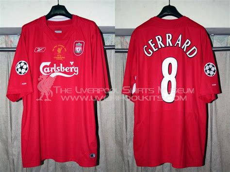 Jersey Liverpool Away 20042005 Sleeve the liverpool shirts museum 2000s replica shirts episode 2