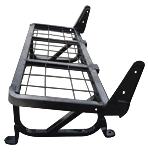 car seat frame materials sheet metal components