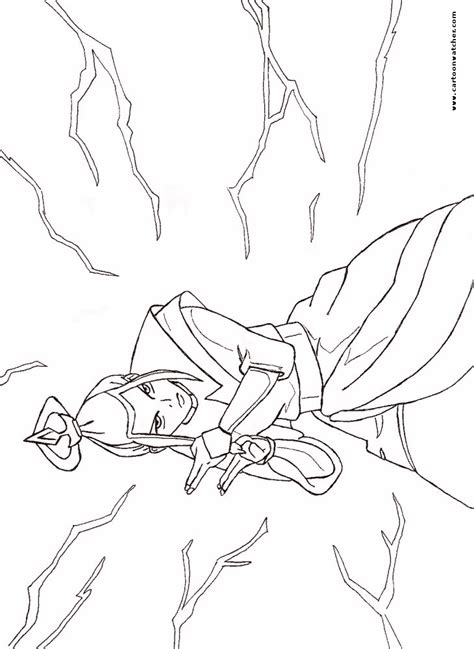 avatar avatar dragon coloring pages