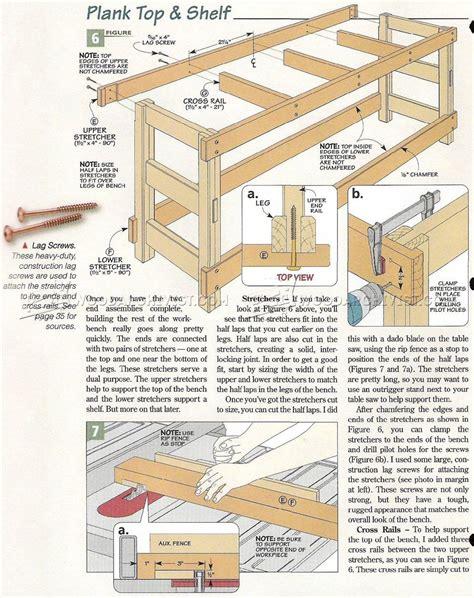 heavy duty work bench plans heavy duty workbench plans woodarchivist