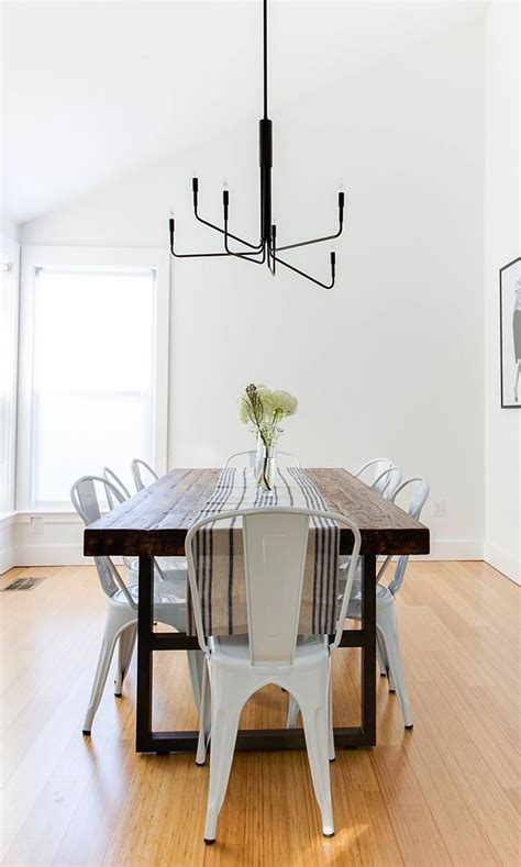 155 best farmhouse tables modern chairs images on