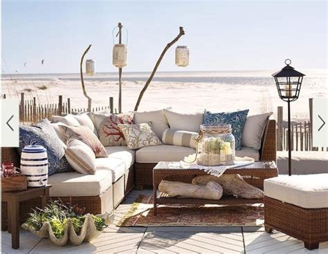 beachy coastal decorating ideas life by the sea 39 cool sea and beach inspired patios digsdigs