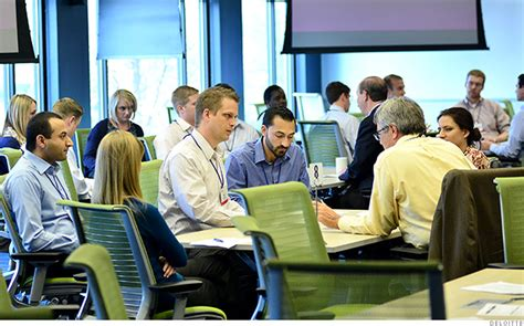 Why Do Employers Want Mba by Deloitte 10 Top Mba Employers Cnnmoney