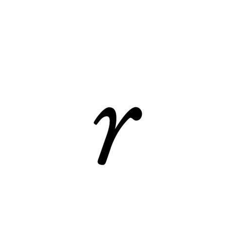 small r r small letter r aegyptus regular graphemica