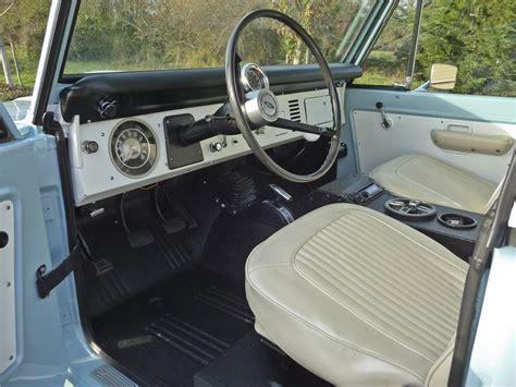 1968 ford bronco custom suv barrett jackson auction