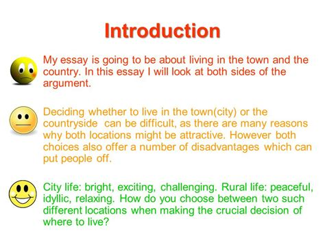 Living In The City Essay by Discursive Writing Ppt