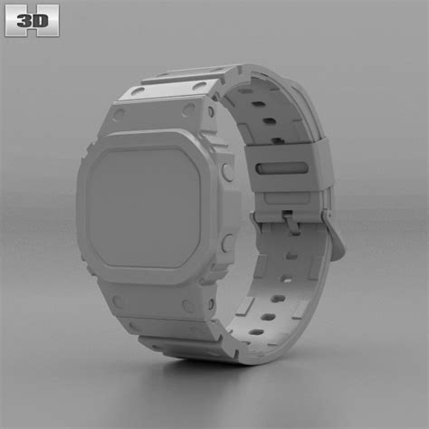 Casio G Shock Tali Gshock Dw 5000 Dw5000 Dw 5000 Rubber Hitam casio g shock dw 5000 3d model hum3d