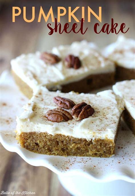 pumpkin sheet cake recipe cream cheeses cheese its